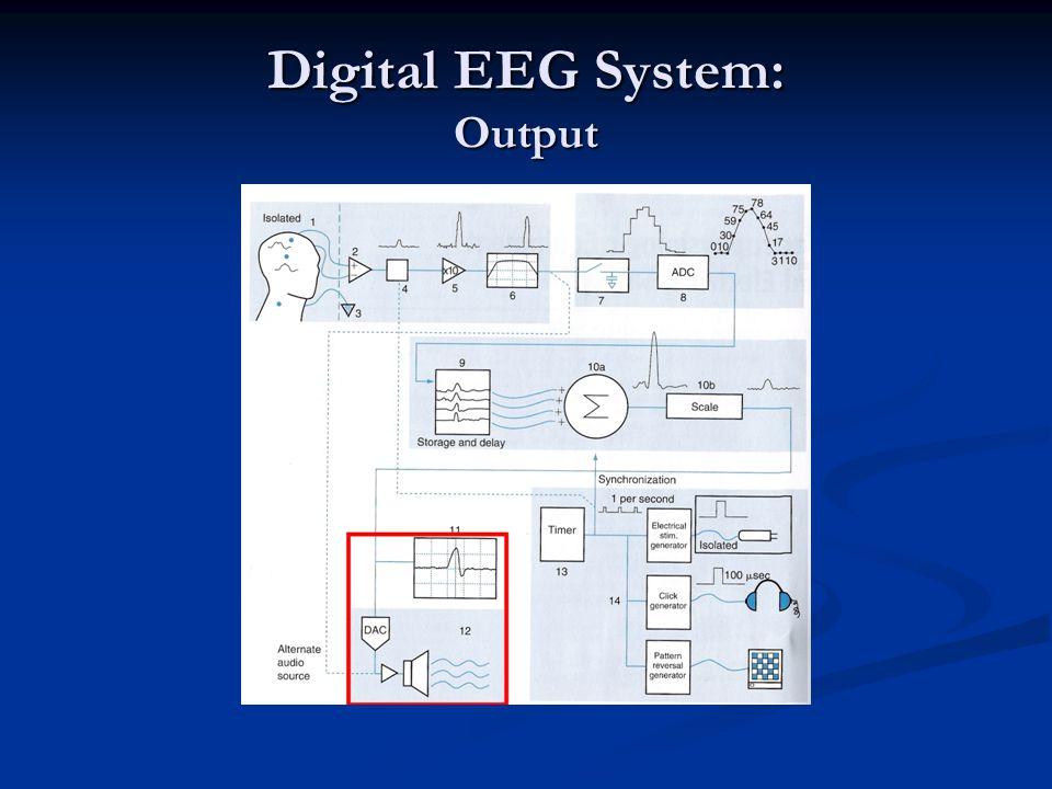 Digital EEG System: Output