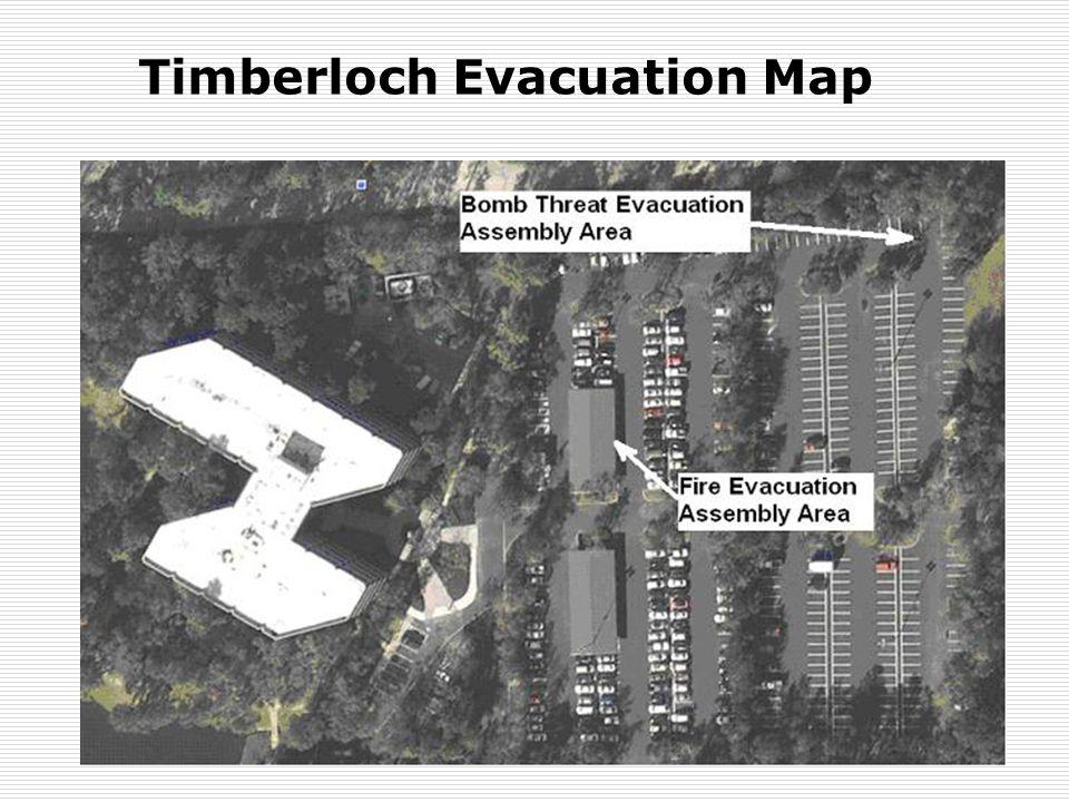 Parkwood II Evacuation Map