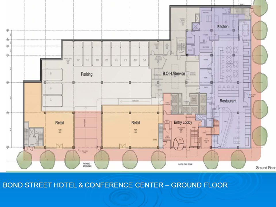 BOND STREET HOTEL & CONFERENCE CENTER - SECOND FLOOR