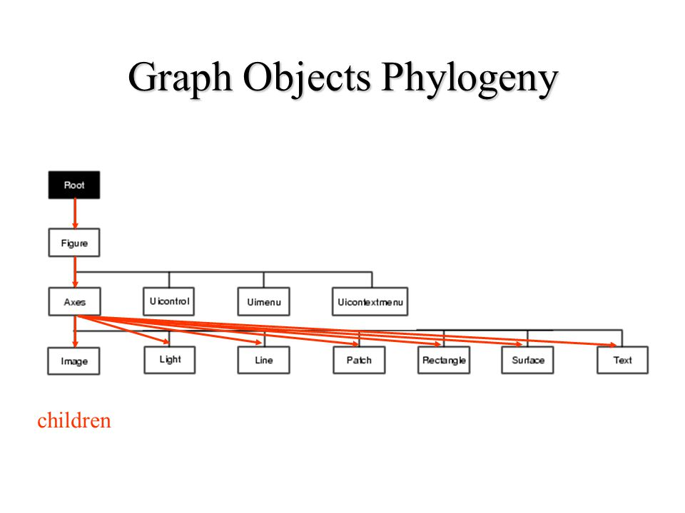 Graph Objects Phylogeny children