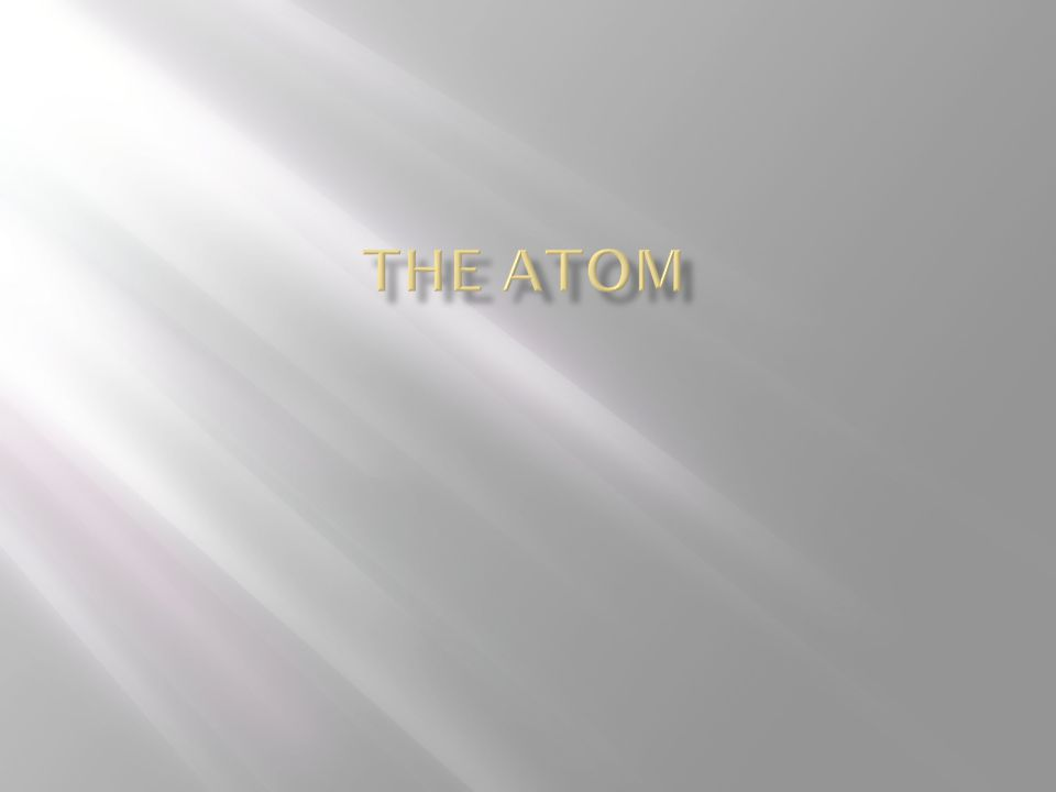  If an atom is not neutral, then it has a charge.