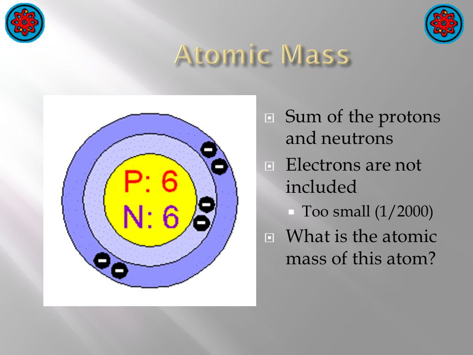  Diatomic = two atoms  There are 7 diatomic atoms  N 2, O 2, F 2, Cl 2, Br 2, I 2, H 2  Remember them by the rule of 7  Starts with element 7 = Nitrogen  Forms a 7 through oxygen and down to iodine  The 7 th diatomic element is hydrogen 