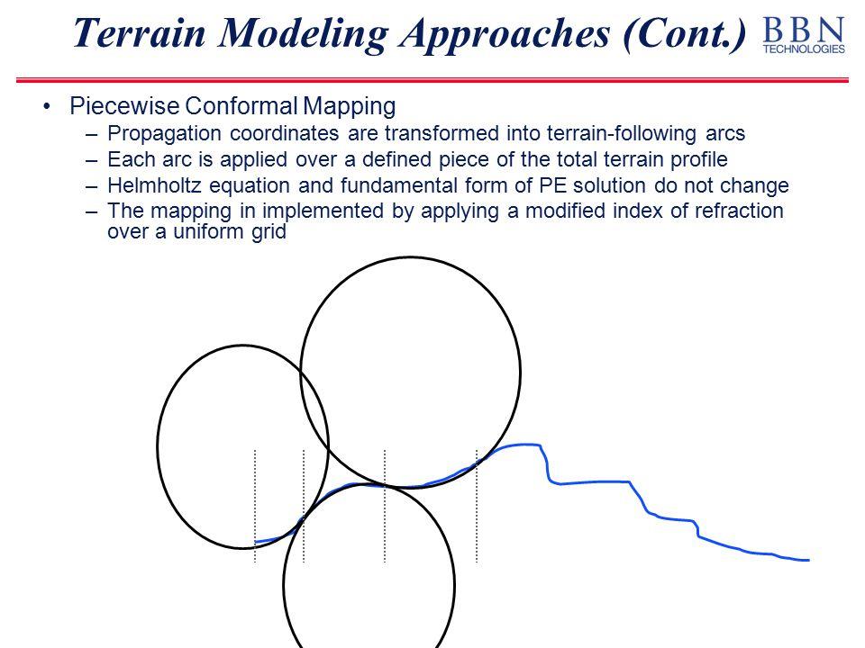 Waveform Comparison Bandpass filter 1-3 Hz Terrain introduces more spreading in waveform arrival No Terrain Terrain Data