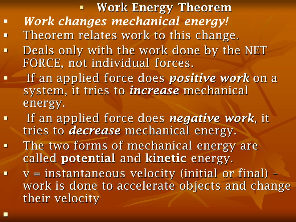 The force shown is a variable force.