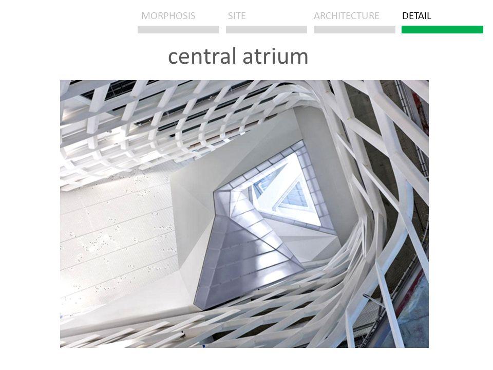 central atrium MORPHOSISSITEARCHITECTUREDETAIL