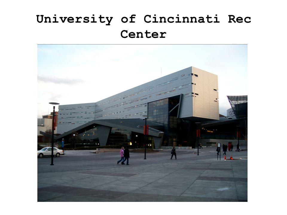 University of Cincinnati Rec Center