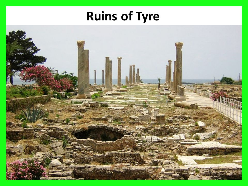 34 Ruins of Tyre