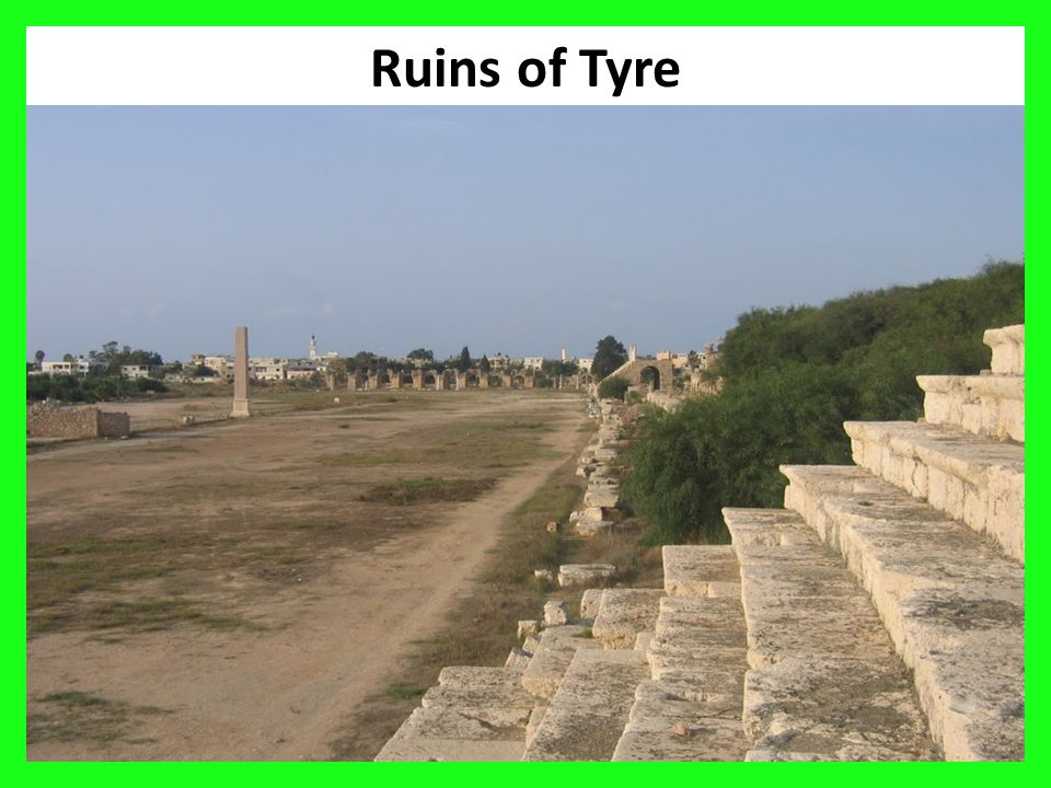 36 Ruins of Tyre