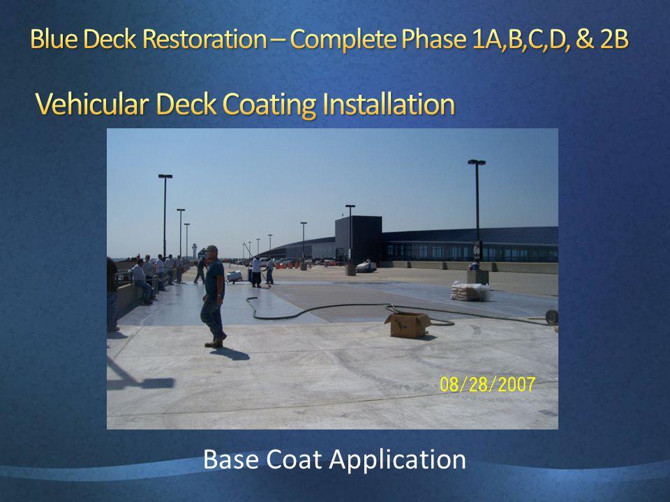 Base Coat Application