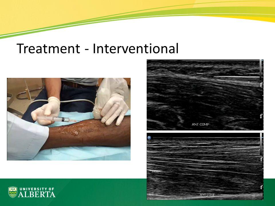 Treatment - Interventional