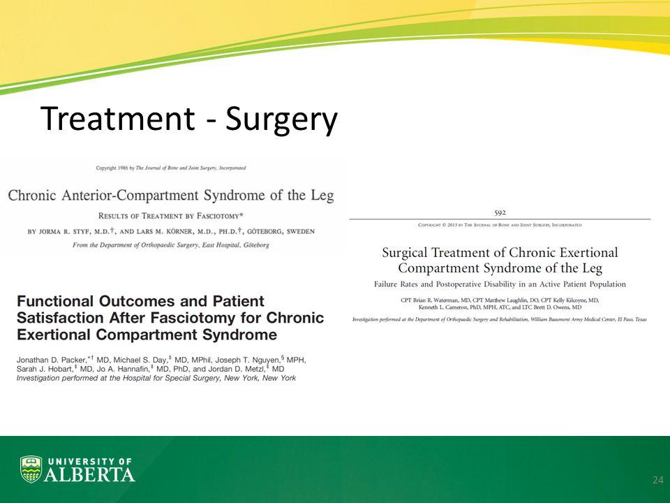 Treatment - Surgery 24
