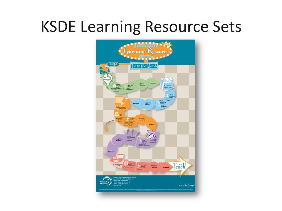 KSDE Learning Resource Sets