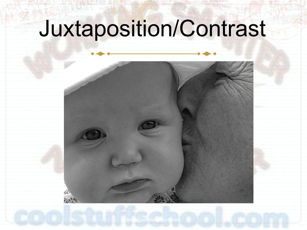 Juxtaposition/Contrast http://coolstuffschool.com