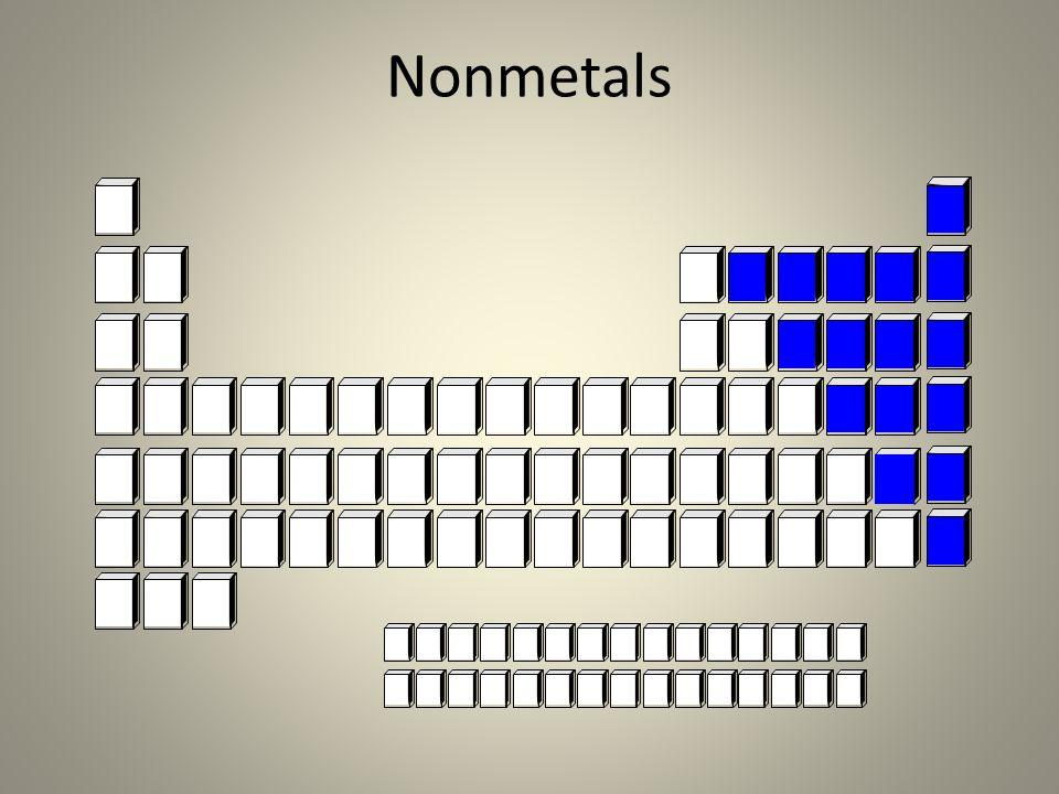 Nonmetals