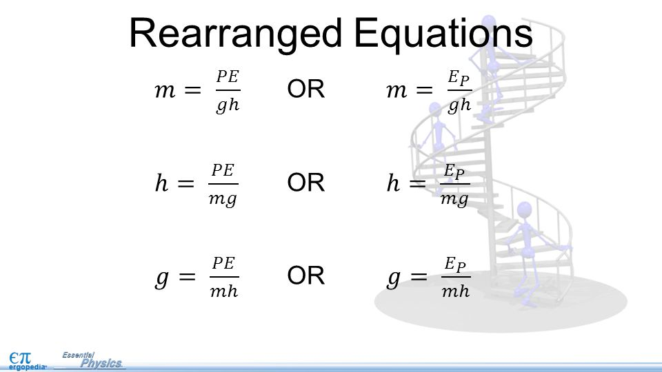 Rearranged Equations