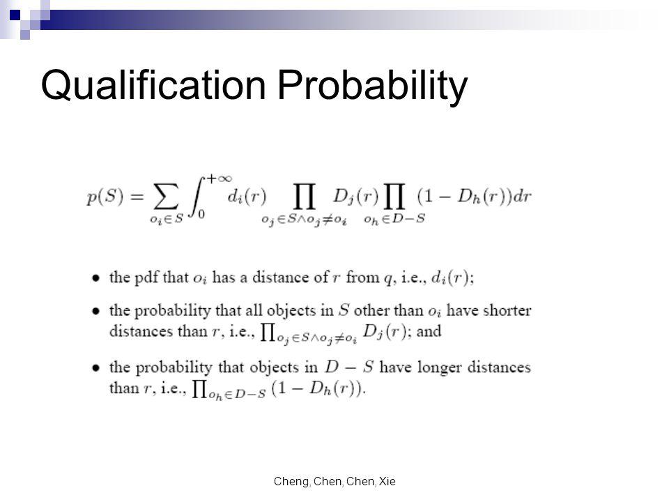 Cheng, Chen, Chen, Xie Qualification Probability