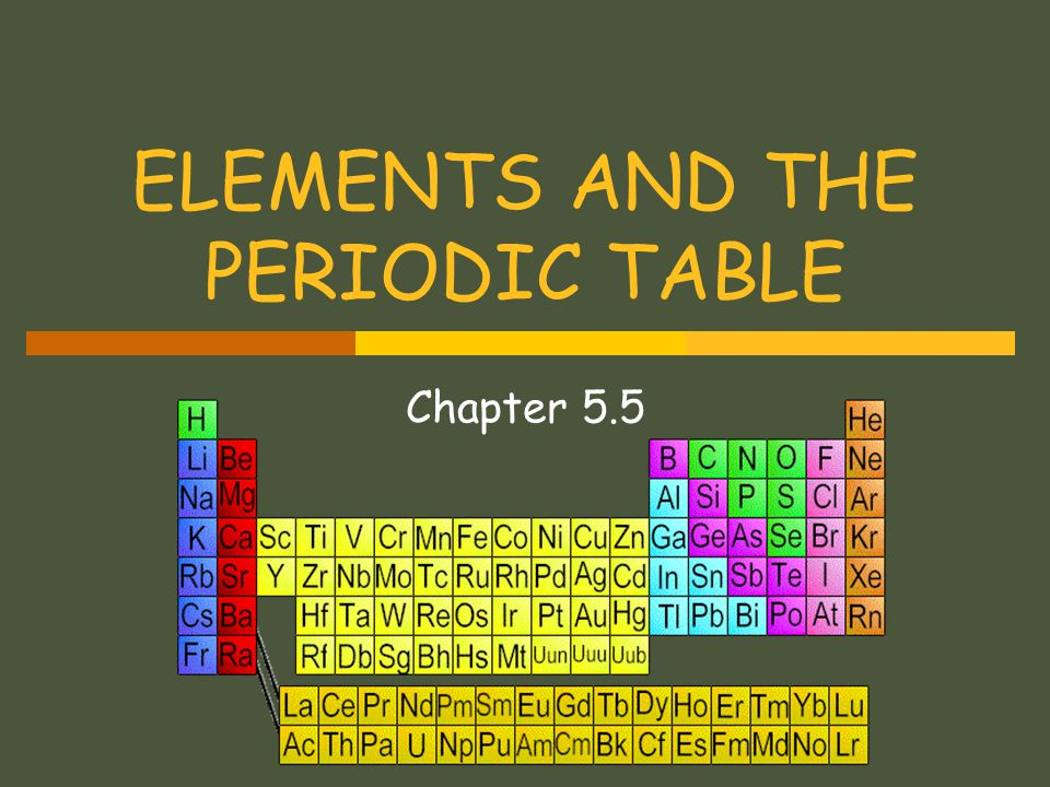 TRANSITION ELEMENTS  Are elements in Groups 3 to 12.