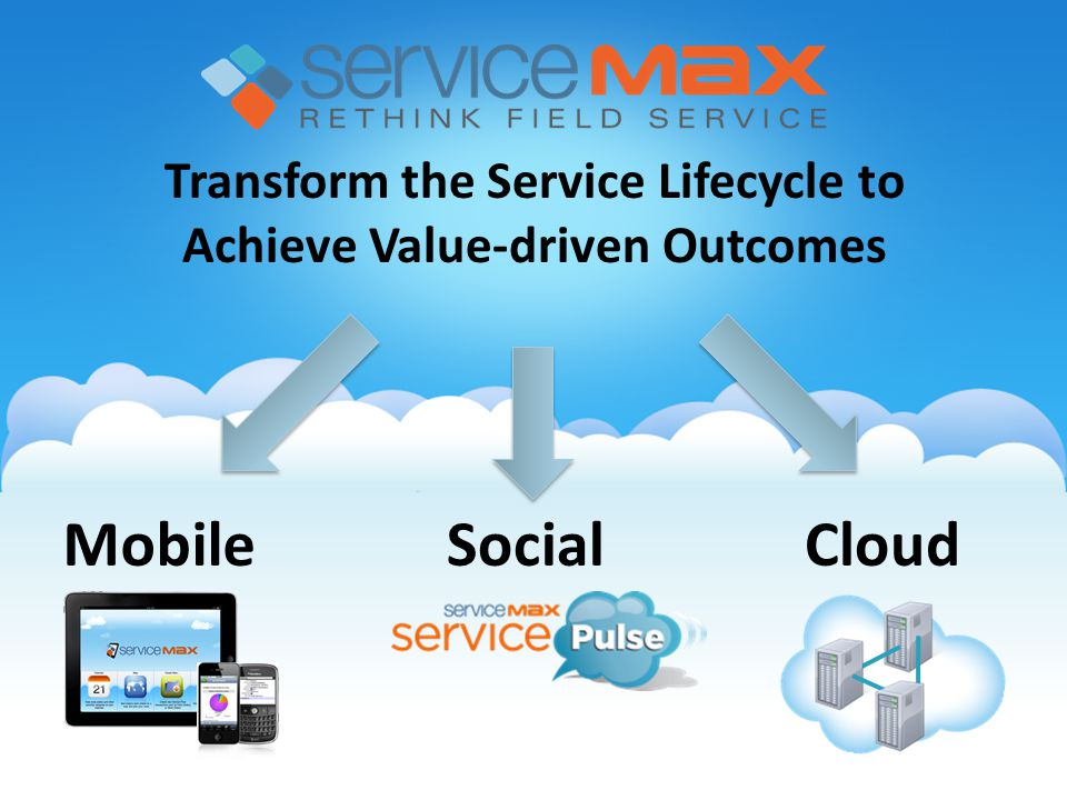 Transform the Service Lifecycle to Achieve Value-driven Outcomes MobileCloudSocial