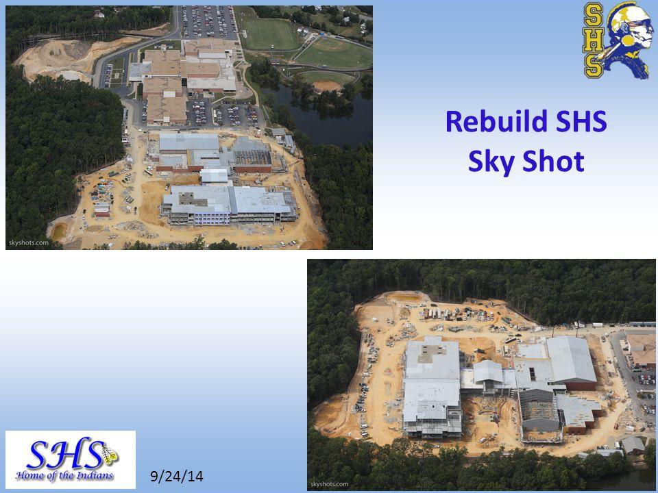 8/26/14 Rebuild SHS Sky Shot 9/24/14