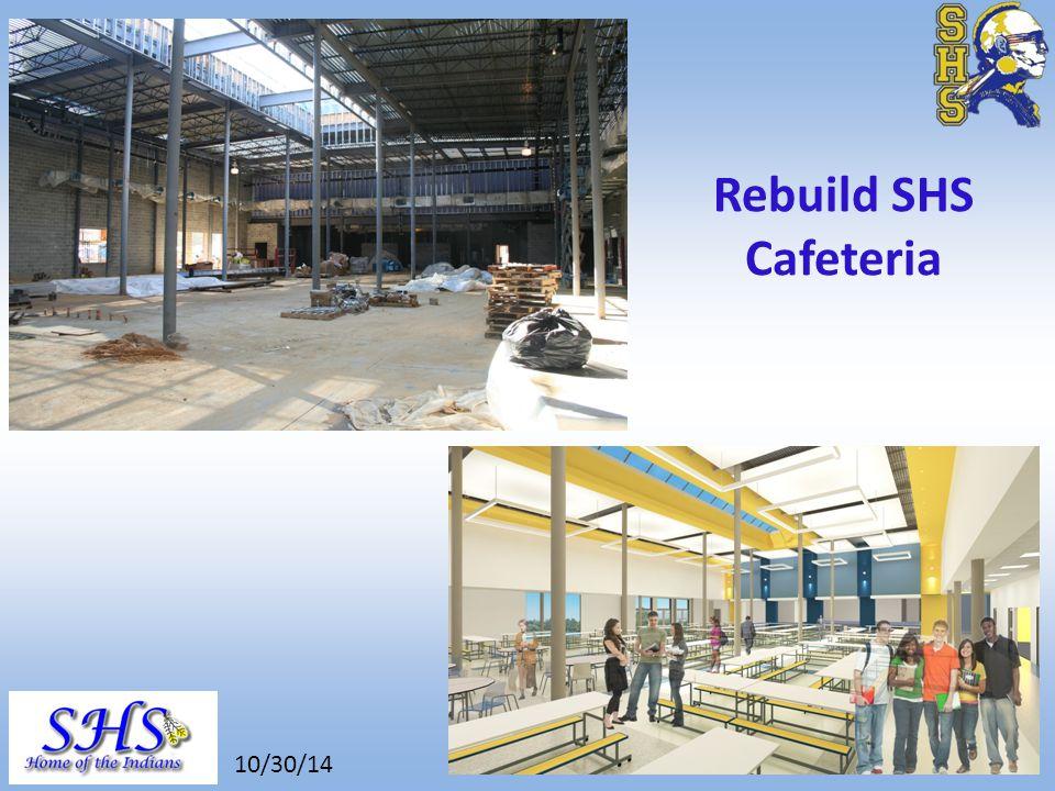 8/26/14 Rebuild SHS Cafeteria 10/30/14