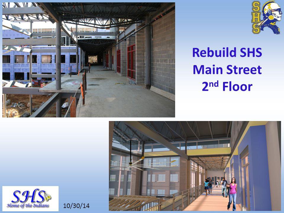 8/26/14 Rebuild SHS Central Stair Gymnasium Roofing 10/30/14