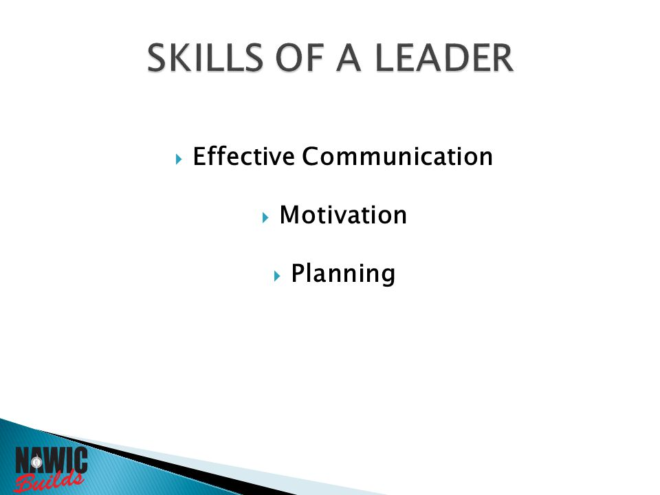  Effective Communication  Motivation  Planning