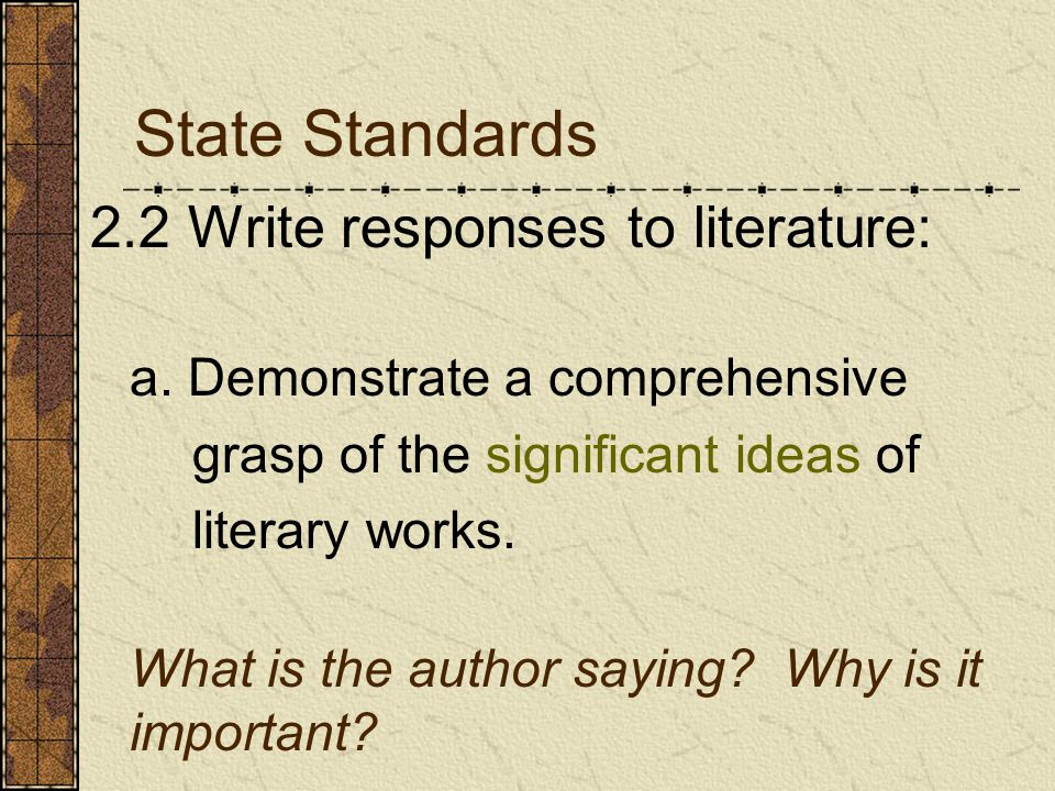 Write your thesis statement on your worksheet.