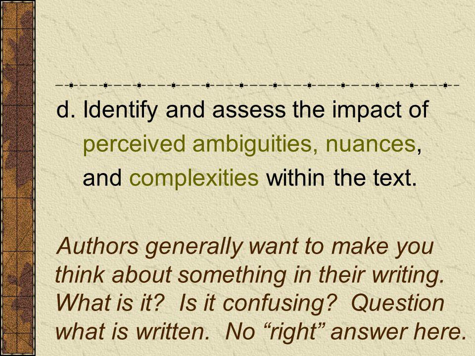 1.Topic Sentence 2. Explain* 3. Quote/Example* 4.