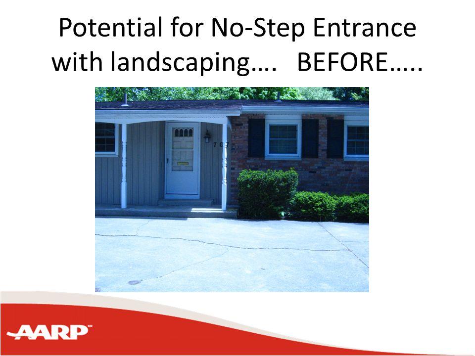 Alternative for Steps No-step/Zero-Step Ramp Mechanical Outdoor Lift
