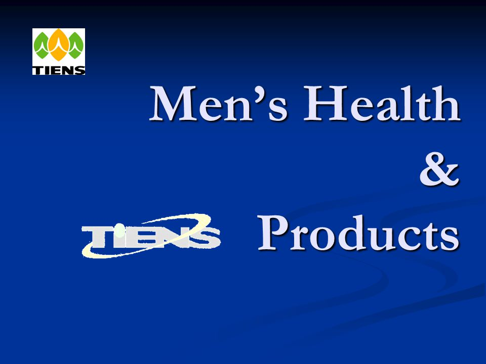 Men's Health & Products