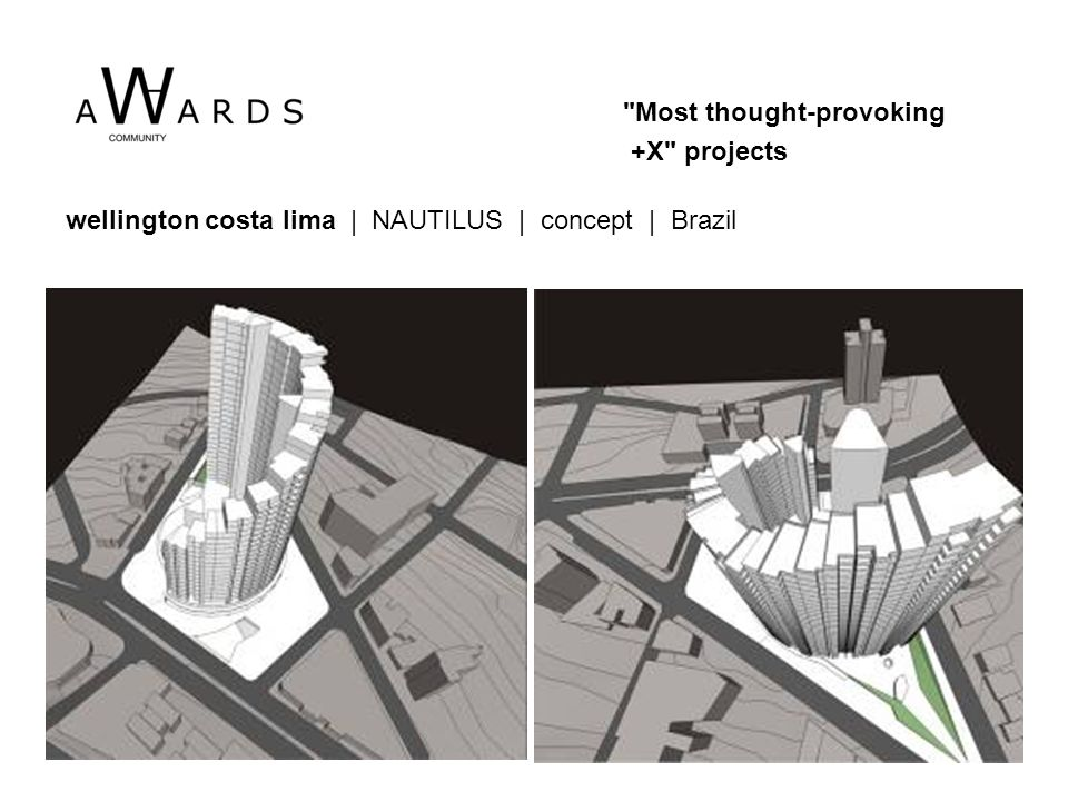wellington costa lima | NAUTILUS | concept | Brazil Most thought-provoking +X projects