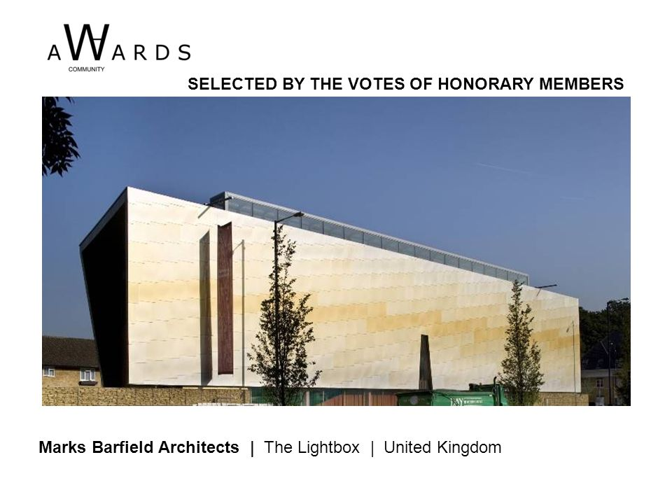 Ramin Mehdizadeh | Stair House | Iran SELECTED BY THE VOTES OF HONORARY MEMBERS