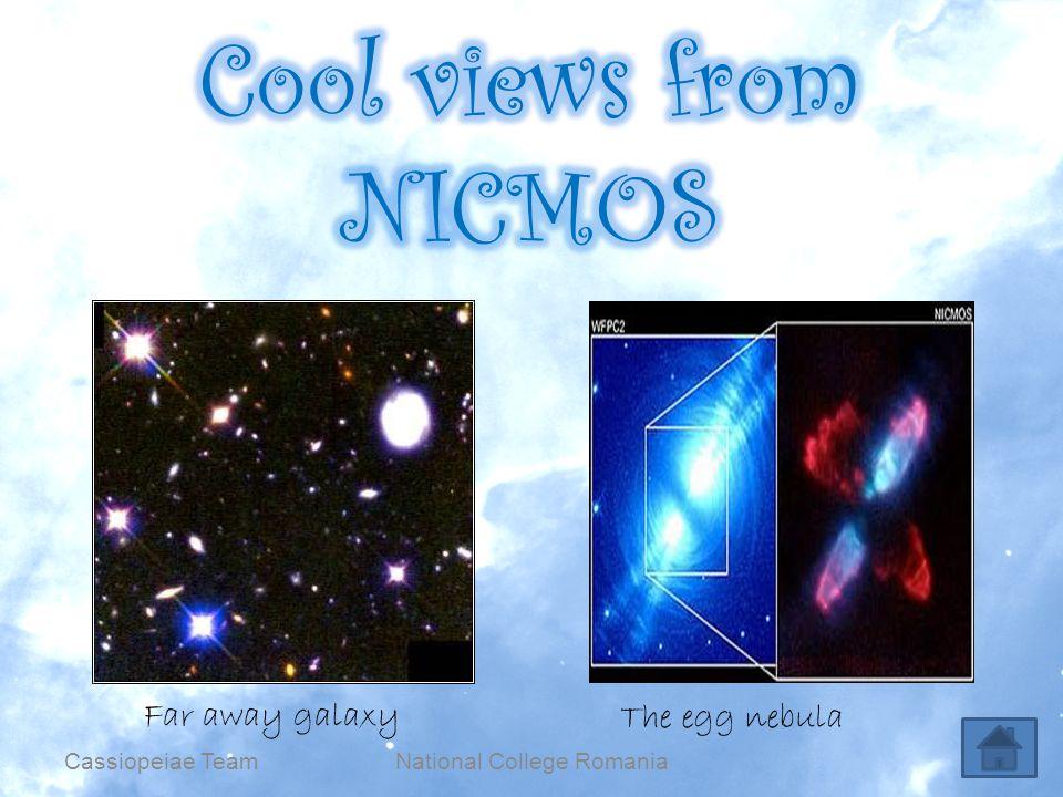 National College RomaniaCassiopeiae Team Far away galaxy The egg nebula