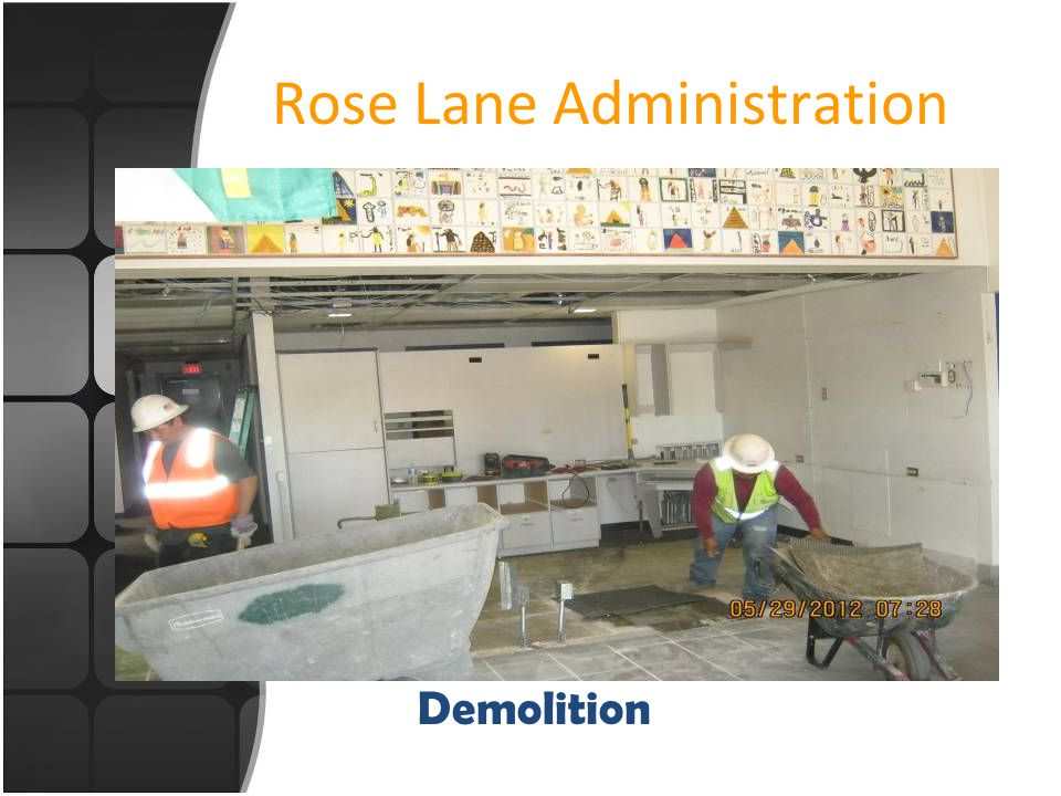 Rose Lane Administration New Office layout
