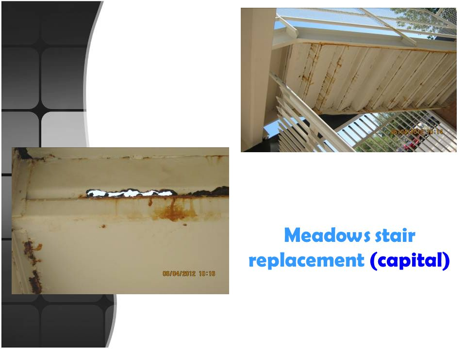 Meadows stair replacement (capital)