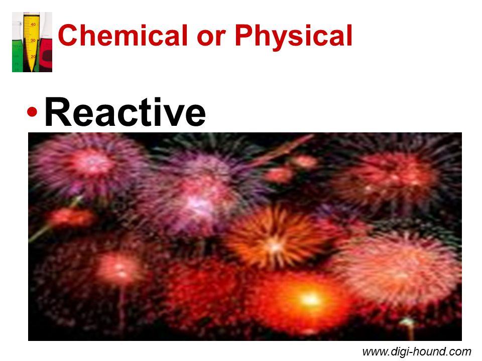 Chemical or Physical Reactive www.digi-hound.com