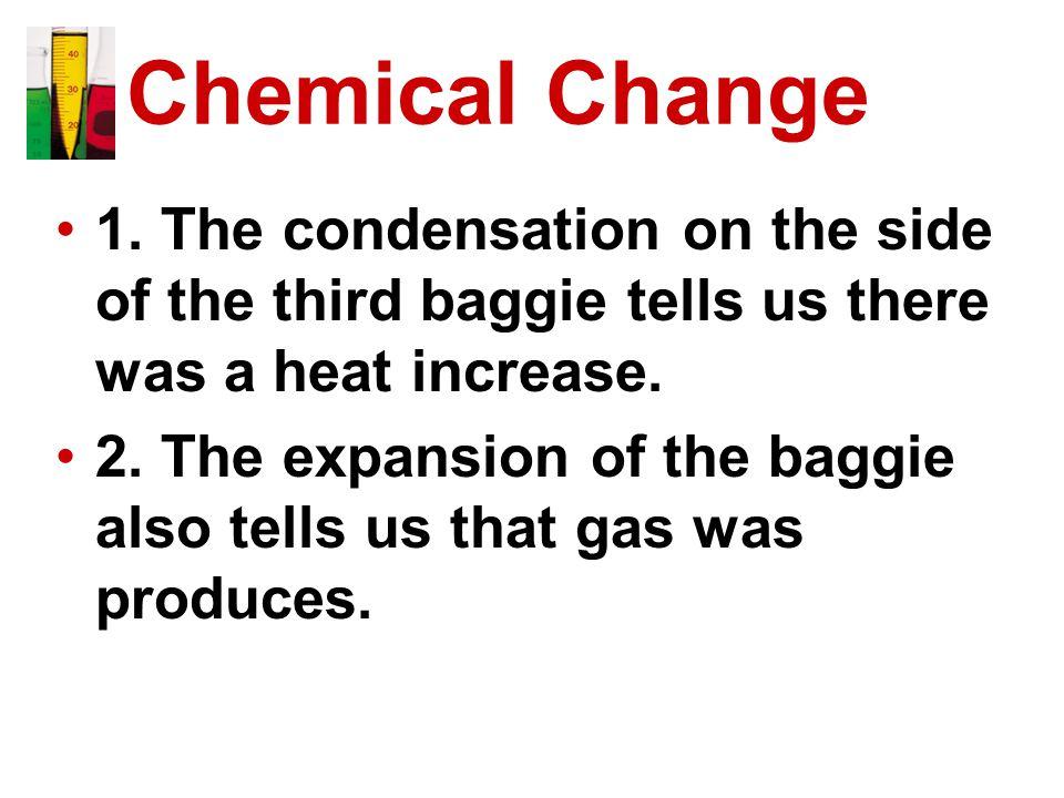 Chemical Change 1.