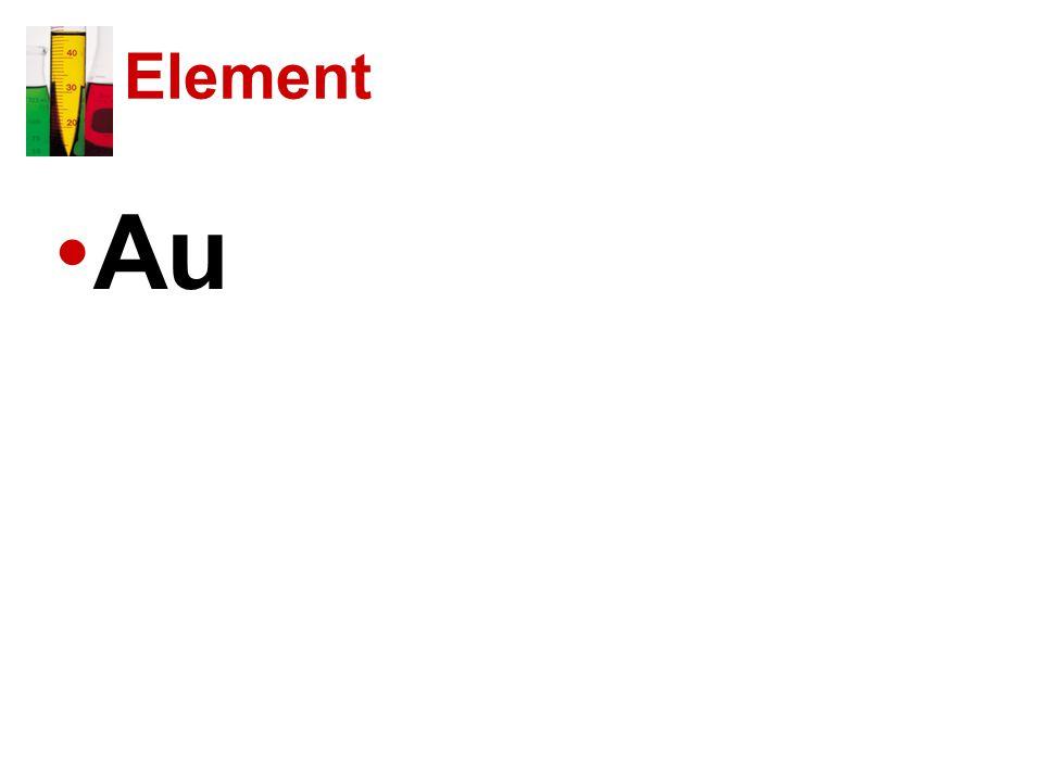 Element Au