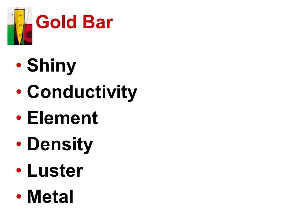 Gold Bar Shiny Conductivity Element Density Luster Metal