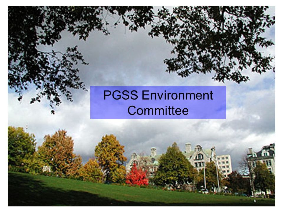 PGSS Environment Committee