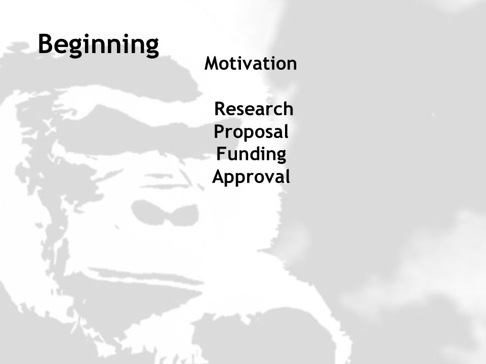 Motivation Research Proposal Funding Approval Beginning