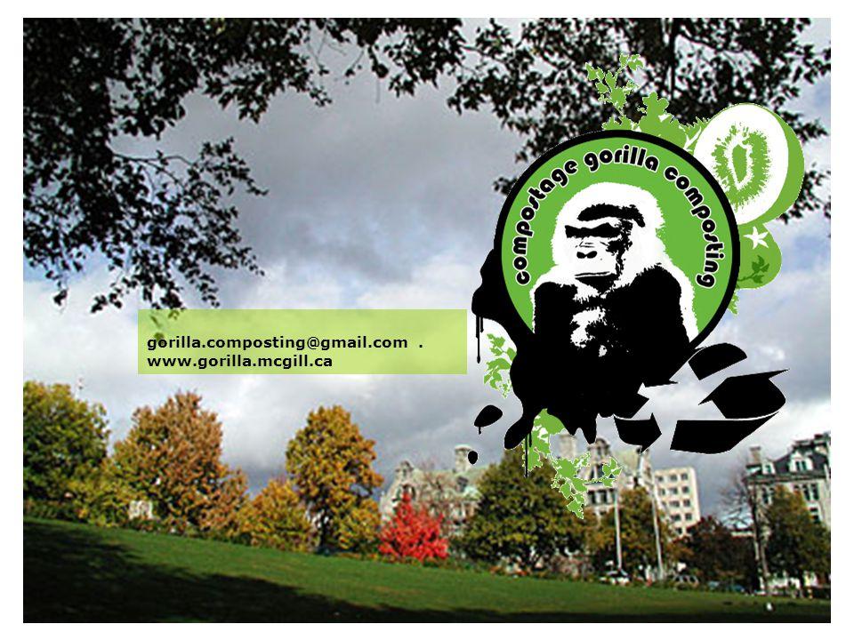 gorilla.composting@gmail.com. www.gorilla.mcgill.ca