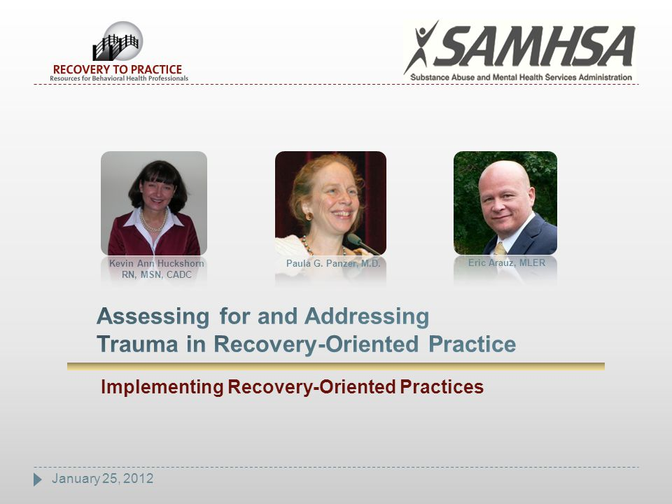 52 Trauma-Informed Lens and Assessment  Trauma-informed work requires use of an informed lens.