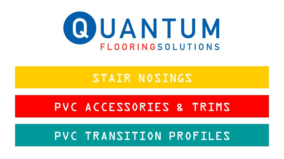 STAIR NOSINGS PVC ACCESSORIES & TRIMS PVC TRANSITION PROFILES