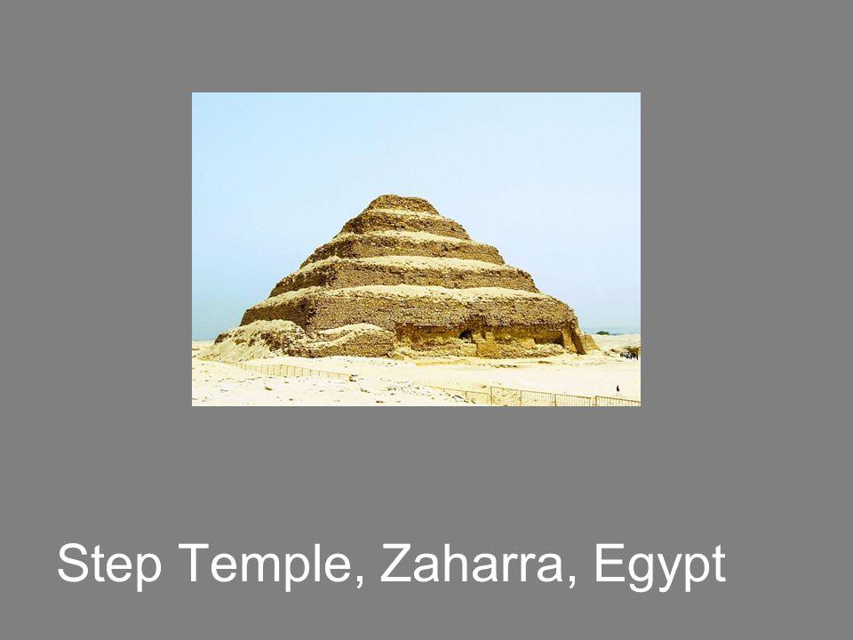 Step Temple, Zaharra, Egypt
