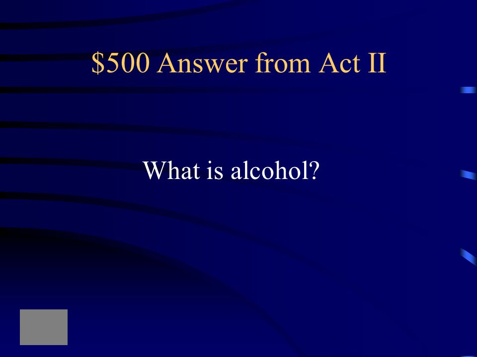 $500 Question from Act II The reason that Lady Macbeth feels bold