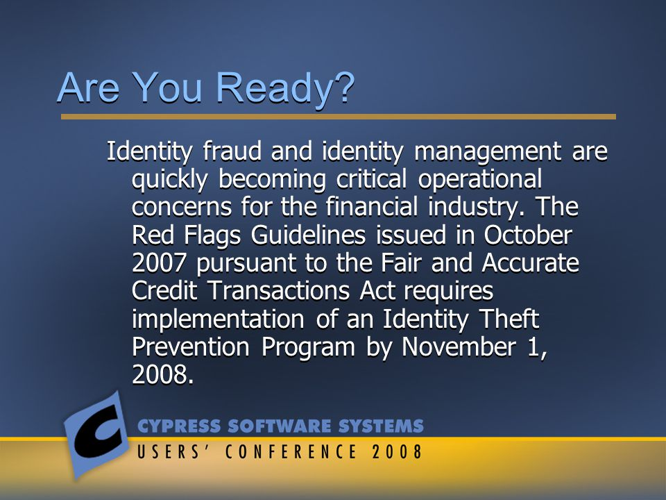 What is ID Theft Identity Theft has the same meaning as under 16 CFR 603.2(a) A fraud committed or attempted using the identifying information of another person without authority.
