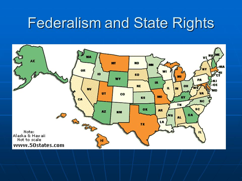 Federalism and State Rights
