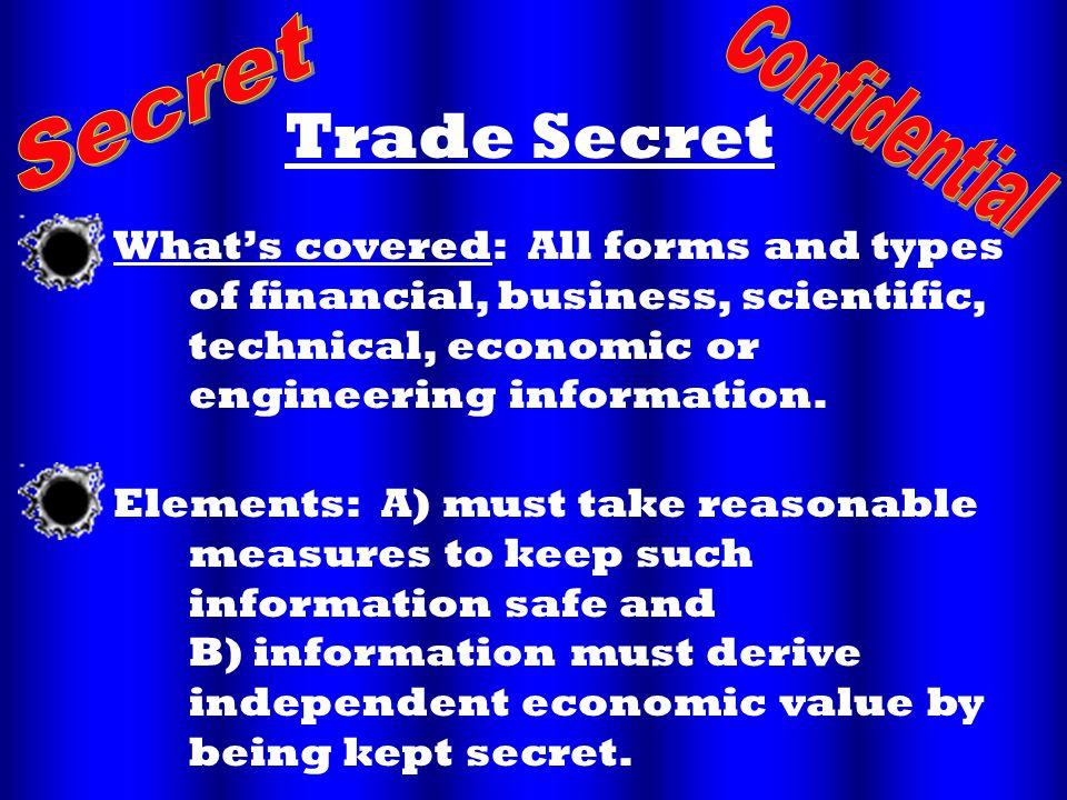 Trade Secret.