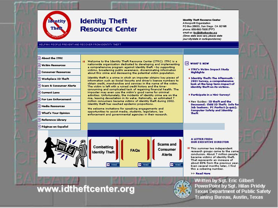 www.idtheftcenter.org